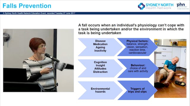 Exercise to prevent falls in older age Assoc Prof Anne Tiedmann