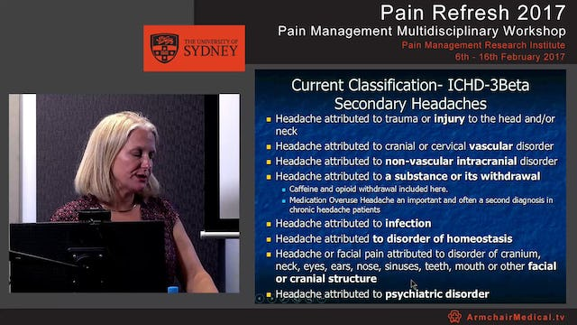 Headache: An update and cases Dr Bronwyn Jenkins
