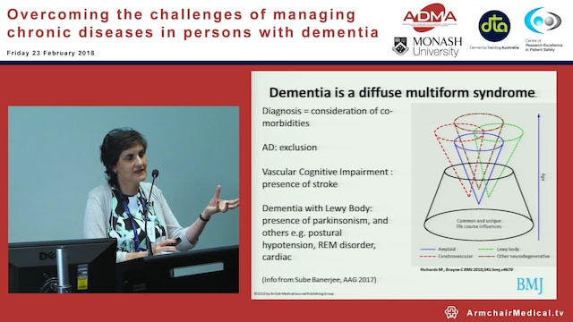 Clinician's strategies for managing chronic disease in persons with dementia dementia Assoc Prof Dina LoGiudice