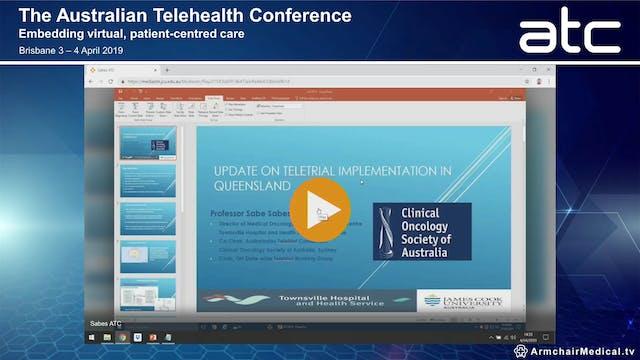Delivering new medical oncology tele-...