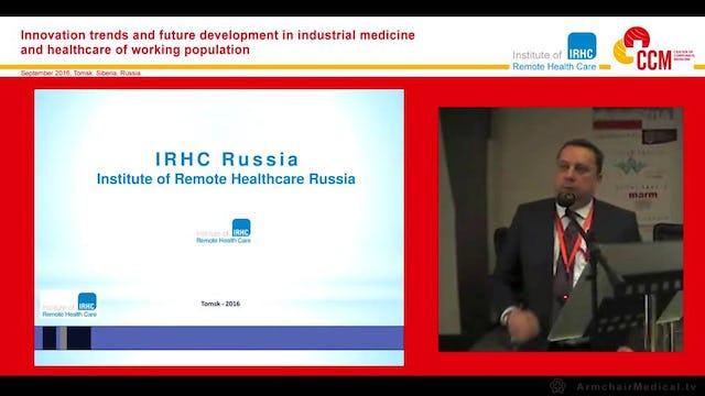 Presentation of the IRHC Russia Establishment Sergey Antipov (Russian Language)