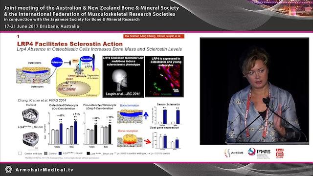 Muscle bone interactions Dr Michaela Kneissel