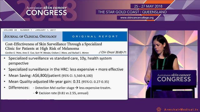 The evidence for Total Body Photography and Serial Imaging Dr Helena Collgros