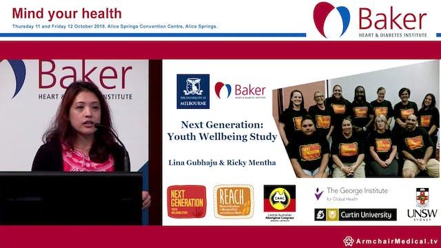 Next generation project Dr Lina Gubhaju & Ricky Mentha