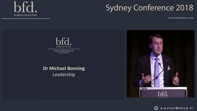 Leadership Dr Michael Bonning