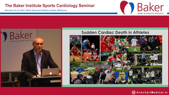 Sudden Cardiac Death in Athletes. Can we make a difference? Prof Chris Semsarian