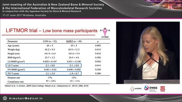 Exercise - Broad spectrum therapy for fracture prevention Prof Belinda Beck