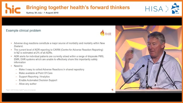 How FHIR enables an ecosystem for health information sharing Dr David Hay