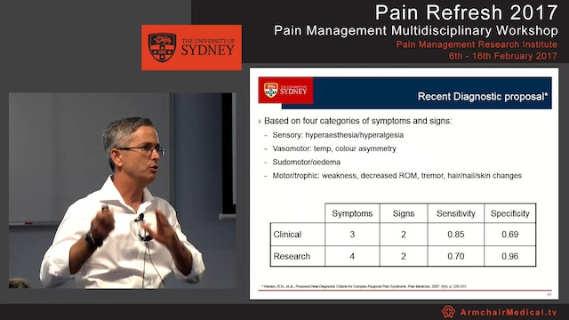 Complex Regional Pain Syndrome Dr Paul Wrigley