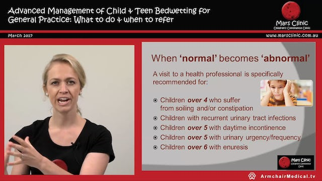 3 Children's Continence Bedwetting Siona Hardy