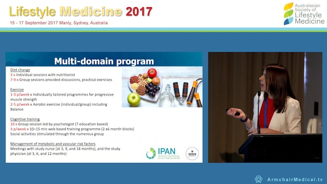 Multi-domain dietary and exercise int...