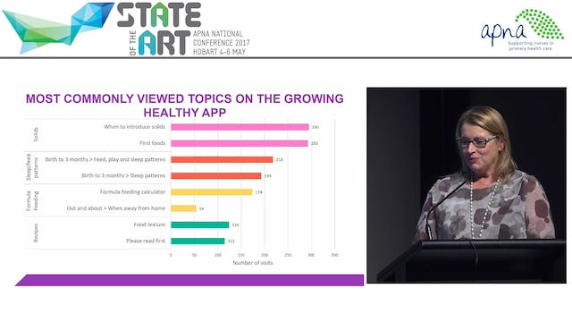 Preventing Child Obesity in Primary Care the Growing Healthy App, Elizabeth Denney-Wilson