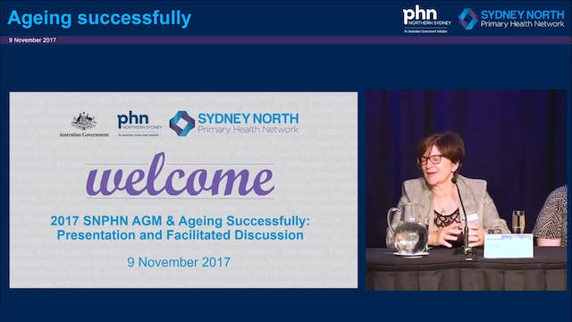Ageing successfully Panel Discussion