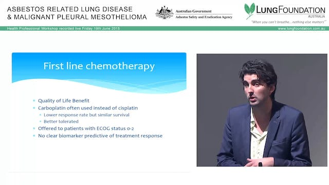 Mesothelioma Chemotherapy Dr Anthony Linton