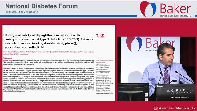Highlights of the EASD 2017  Dr Spiro Fourlanos