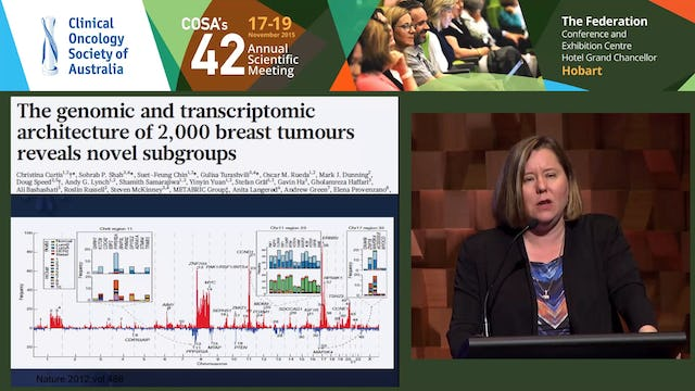 Sandra O'Toole Tumour mutation testing – challenges and opportunities in rare cancers