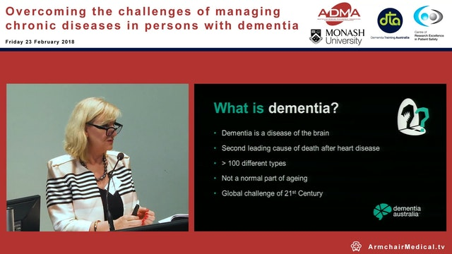 Promoting dementia care Ms Maree McCa...