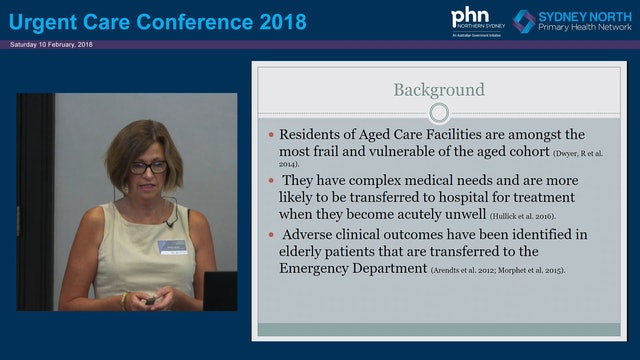 Hospital avoidance services for older people in NSLHD Therese Jepson
