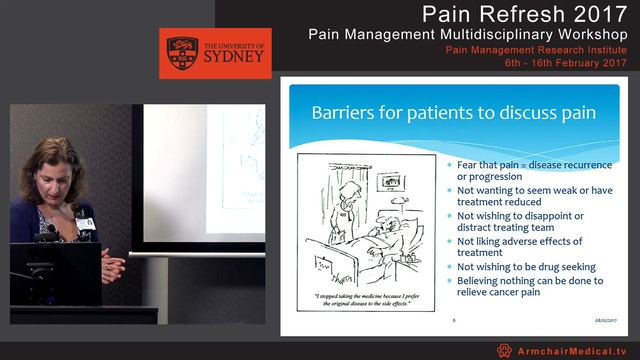 Psychosocial management of cancer pain Carolyn Howard