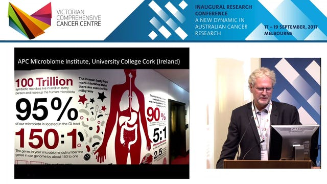 Our microbiome and cancer - Prof Paul Johnson