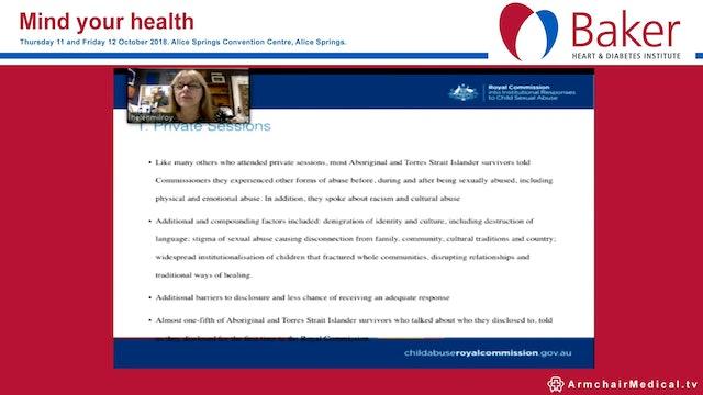 Trauma and mental health Prof Helen Milroy