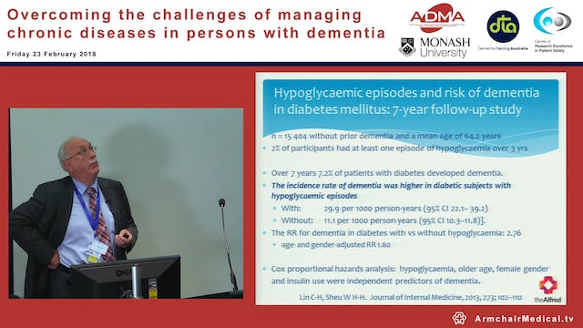 Management of Diabetes Mellitus Prof Duncan Topliss