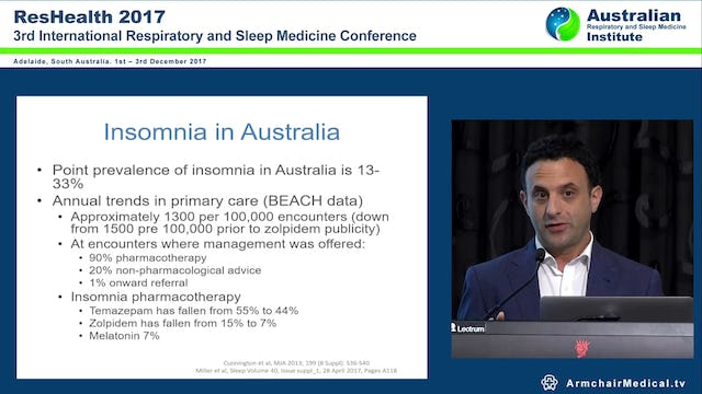 Orexin antagonists in management of Insomnia Dr Simon Frenkel