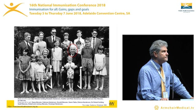 Vaccinating The Forgotten People – adults aged 65 years Dr Robert Menzies