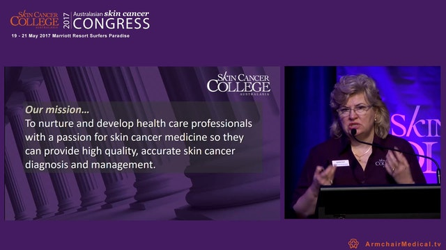 The Skin Cancer College: An Update Ms Lynette Hunt