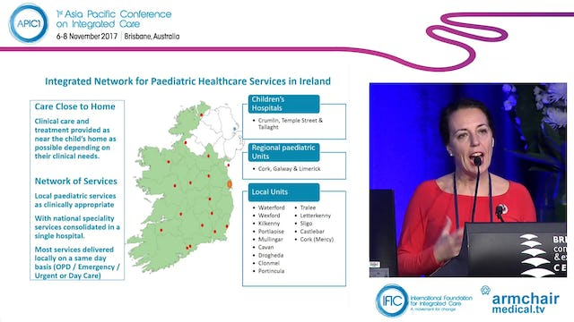 An Integrated Network of Paediatric Services in Ireland Suzanne Dempsey