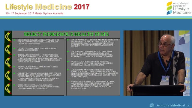 Lifestyle medicine and shared medical appointments in Aboriginal health contexts Prof Bob Morgan