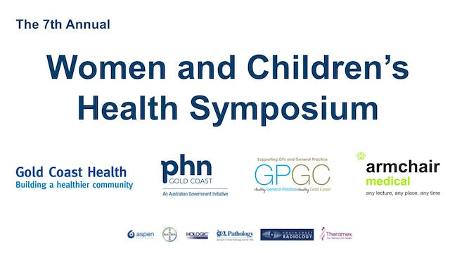 Women and Children's Health Symposium 2018