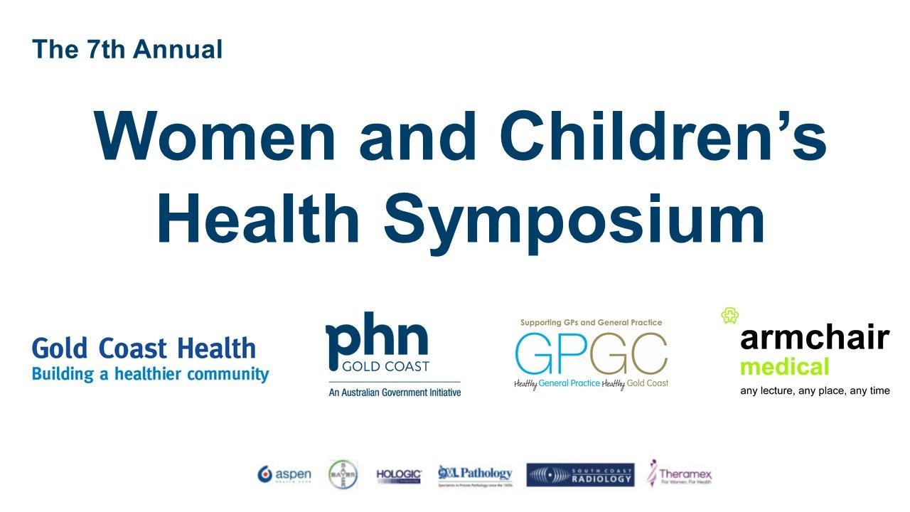 Women and Children's Health Symposium 2018