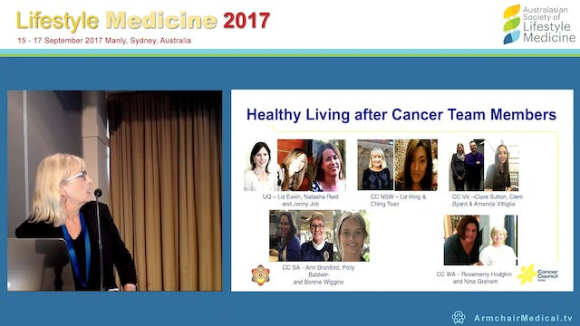 Translating research into practice The Healthy Living after Cancer Partnership Project Elisabeth Hing