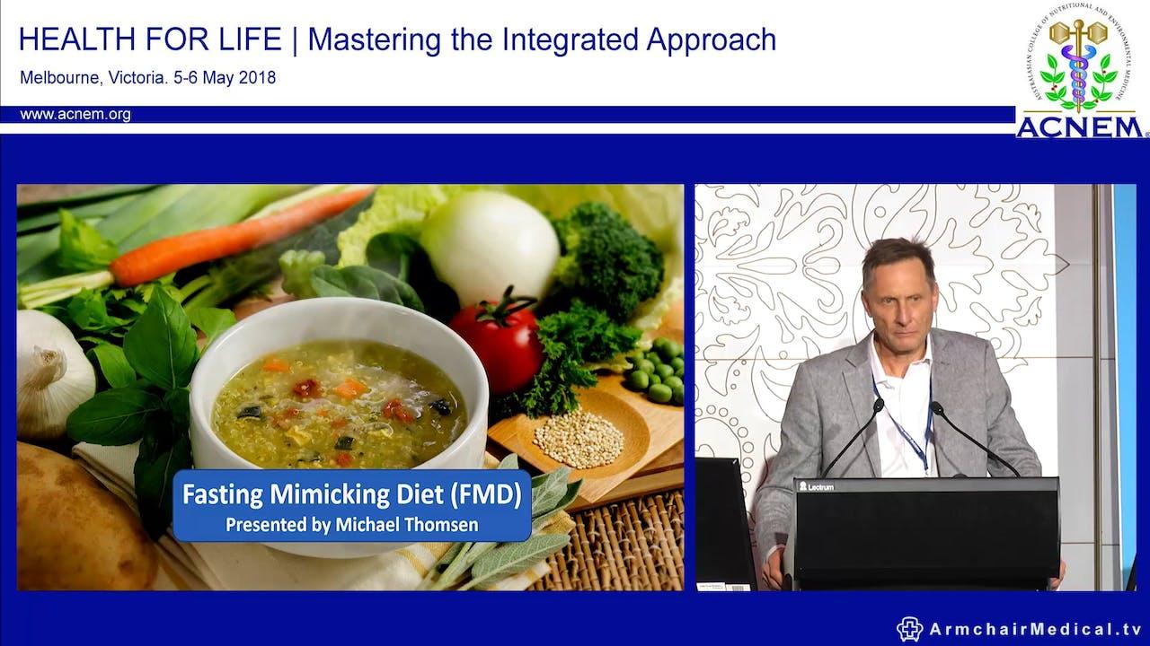 Fasting Mimicking Diet Michael Thomsen - Lifestyle Medicine