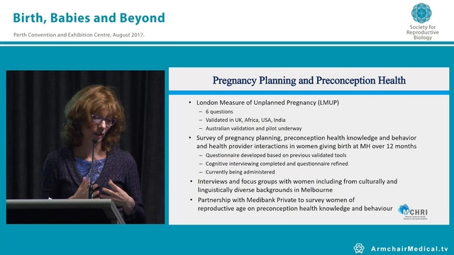 Before, Between and Beyond Pregnancy ...