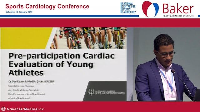 Pre-participation cardiac evaluation of young athletes Dan Exeter