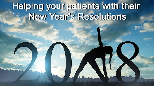 Help for New Year's Resolutions