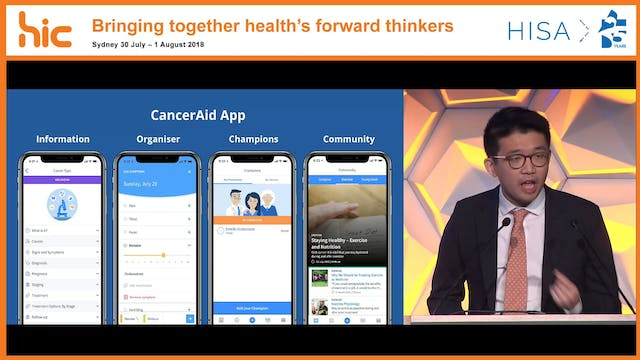 CancerAid An oncology digital companion for patient-reported outcomes with electronic health record integration Dr Zachary Tan