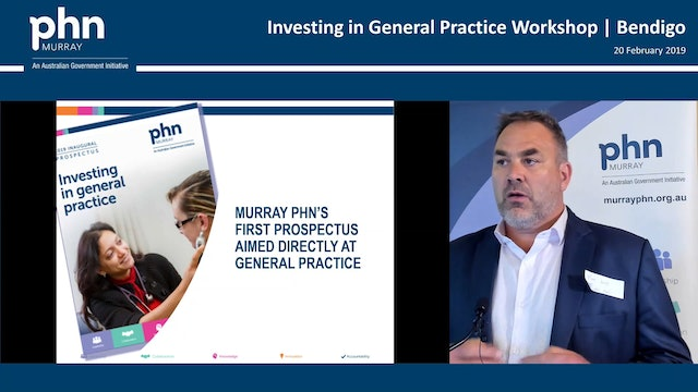 Investing in General Practice Matt Jones, Anne Somerville & Penny Bolton