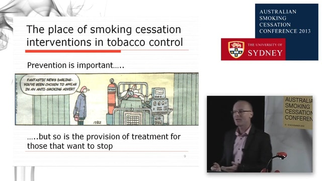 Evidence based smoking cessation the ...
