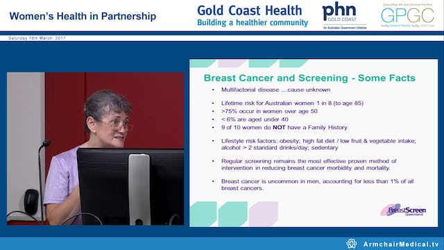 Breastscreen QLD: Identification and referral. Dr Ellen Dooris
