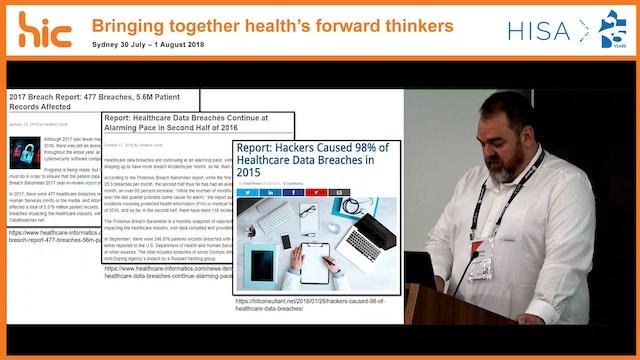 Secure health chain Tom Pitham