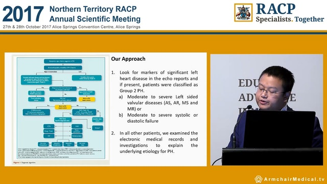Initial findings of Top End Pulmonary...