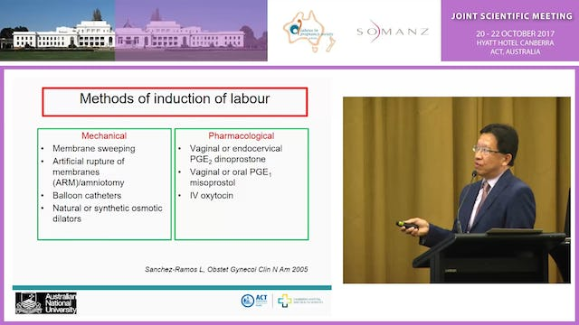 Time to be delivered - is induction of labour a risky business - Assoc Prof Boon Lim