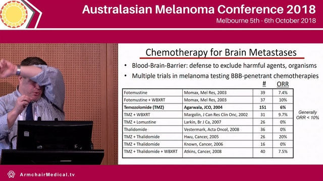 Breakthroughs in systemic therapy for brain metastases  Michael Davies