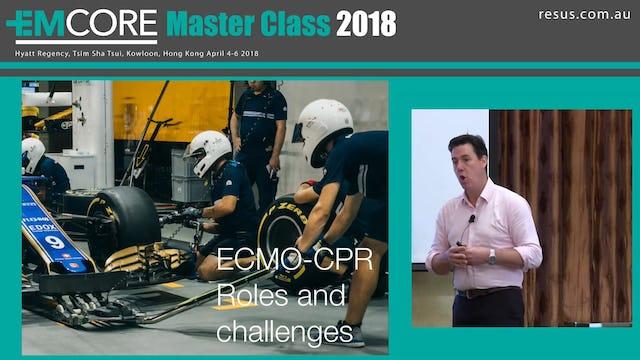 ECMO 2018 Dr James Edwards