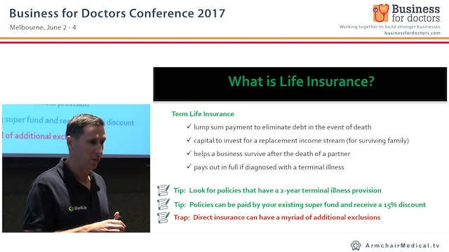 Understanding Personal Insurances - Tips for Optimising Your Policies Ray Bostelman Principle Adviser Med Life