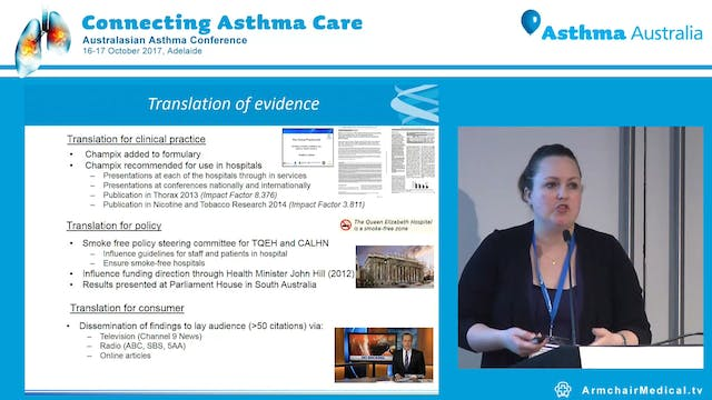 Tips and Tricks to implementing a smoking cessation strategy Dr Kristin Carson