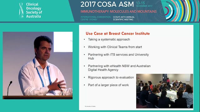 Using data to drive change in breast cancer care Tim Shaw
